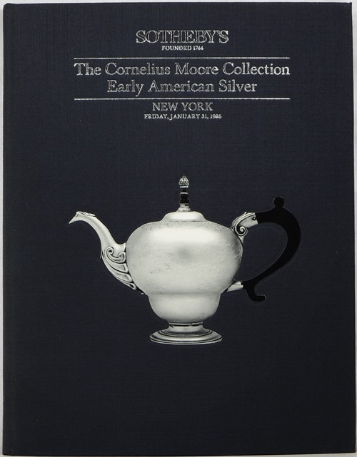 Image for The Cornelius C.  Moore Collection of Early American Silver, New York, January 31, 1986