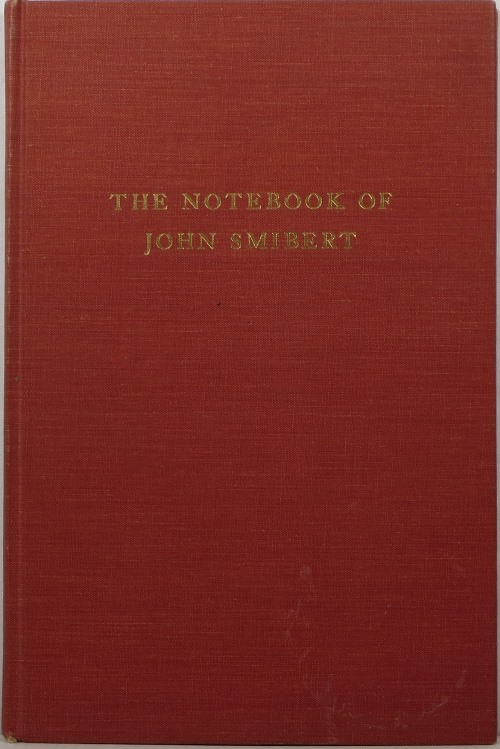 Image for The Notebook of John Smibert
