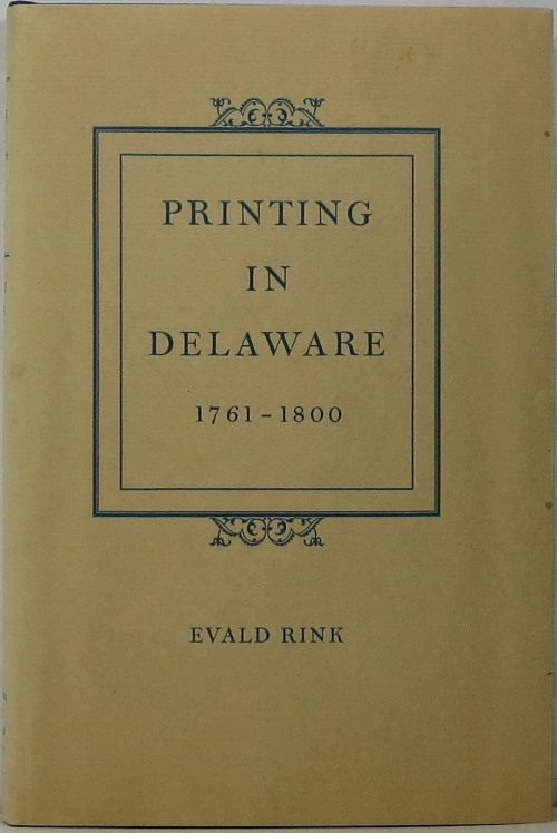 Image for Printing in Delaware 1761-1800