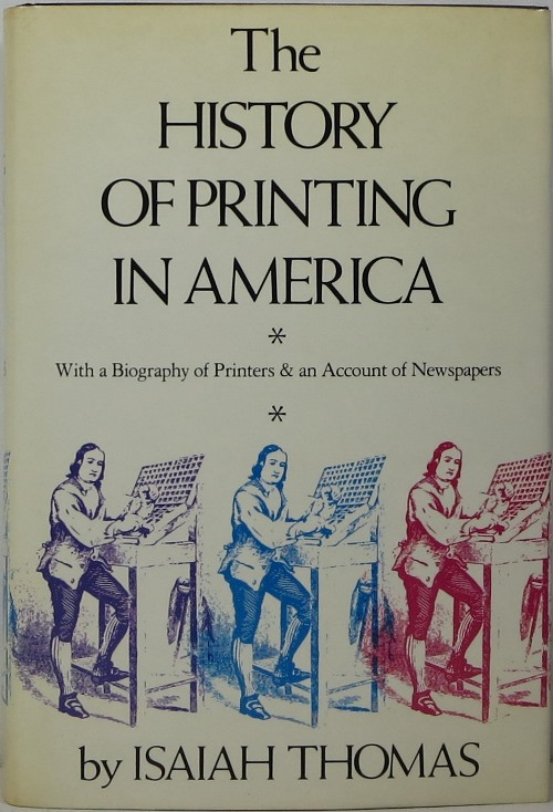 Image for The History of Printing in America