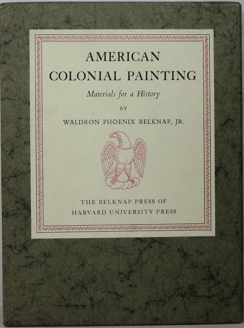 Image for American Colonial Painting: Materials for a History