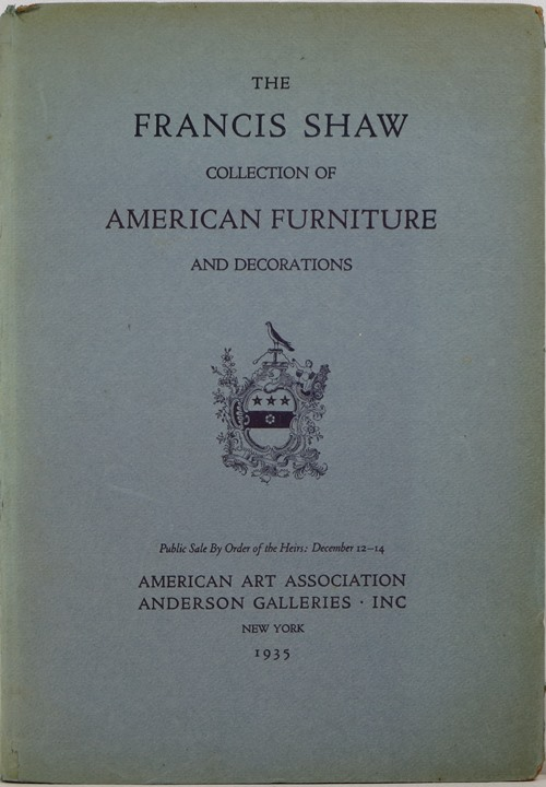 Image for The Francis Shaw Collection of American Furniture and Decorations