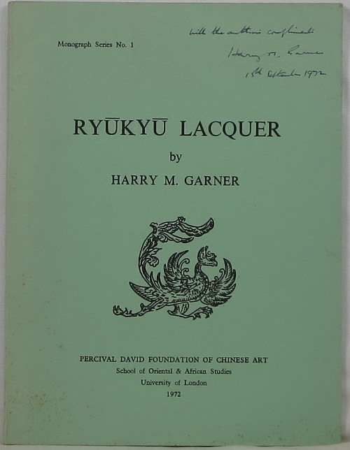 Image for Ryukyu Lacquer