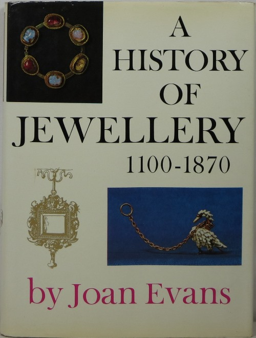 Image for A History of Jewellery 1100-1870