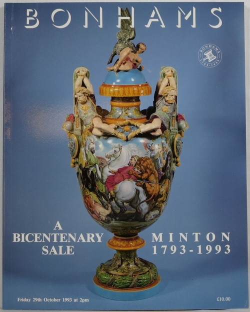 Image for Minton 1793-1993: A Bicentenary Sale, Bonhams, 29th October, 1993