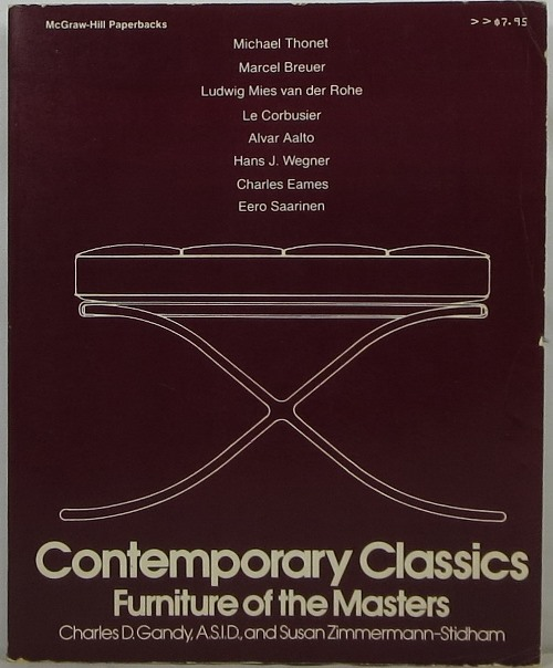 Image for Contemporary Classics: Furniture of the Masters