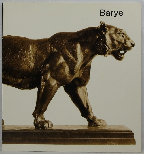 Image for Sculpture by Antoine-Louis Barye in the Collection of the Fogg Art Museum