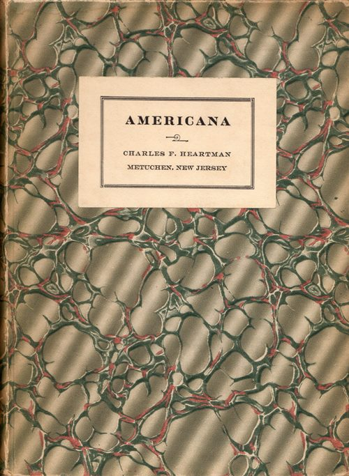 Image for Americana: Printed and in Manuscript