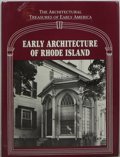 Image for Early Architecture of Rhode Island: The Architectural Treasures of Early America VI