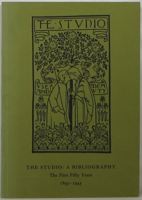 Image for The Studio: A Bibliography: The First Fifty Years 1893-1943