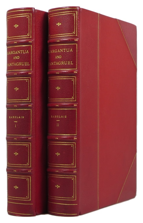 Image for Five Books of the Lives, Historic Deeds and Sayings of Gargantua and his Son Pantagruel, 2 Volume Set
