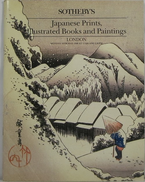 Image for Japanese Prints, Illustrated Books and Paintings, London, 16th May, 1988