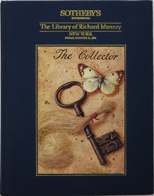 Image for The Library of Richard Manney, New York, October 11, 1991
