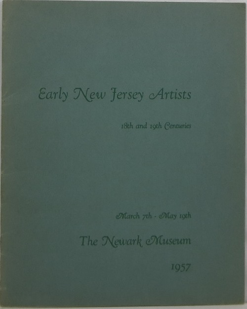 Image for Early New Jersey Artists: 18th and 19th Centuries
