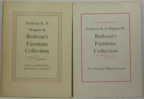 Image for Frederick K. & Margaret R. Barbour's Furniture Collection with A Supplement