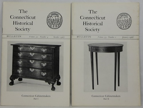 Image for Connecticut Cabinetmakers, Part I & Part II (Volume 32, Number 4 & Volume 33, Number 1)