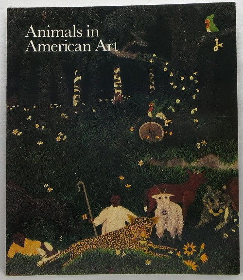 Image for Animals in American Art: 1880's - 1980's
