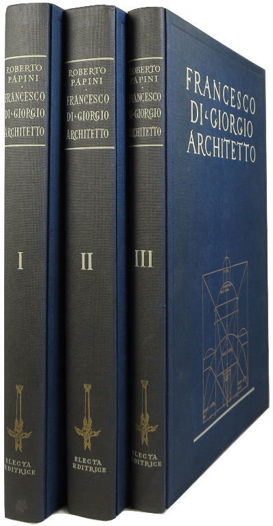 Image for Francesco di Giorgio Architetto, 3 volume set