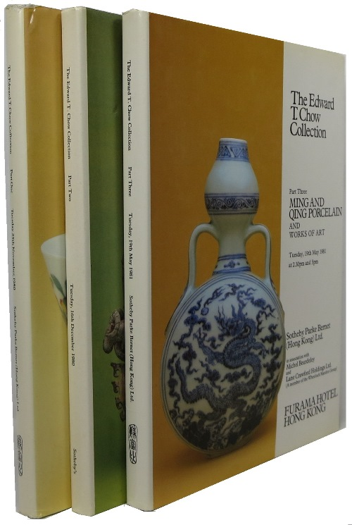 Image for The Edward T. Chow Collection, 3 Volume Set -- Part One: Ming and Qing Porcelain; Part Two: Early Chinese Ceramics and Ancients Bronzes; Part Three: Ming and Qing Porcelain and Works of Art