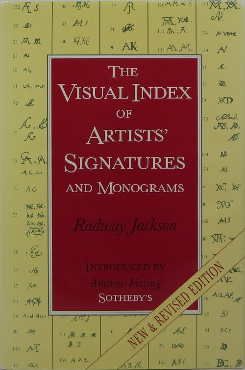 Image for The Visual Index of Artists' Signatures and Monograms