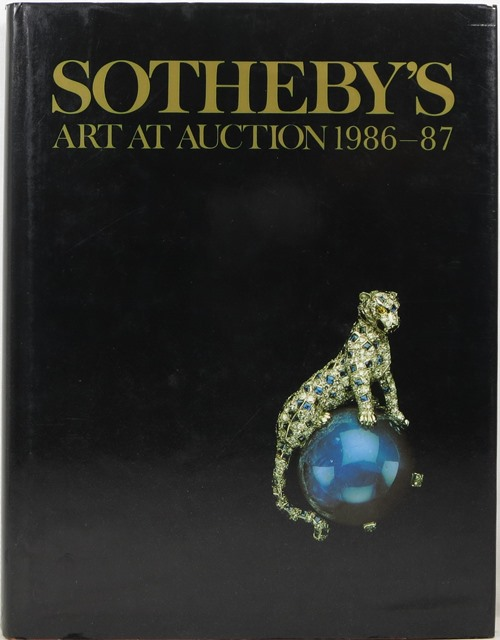 Image for Sotheby's Art at Auction 1986-87