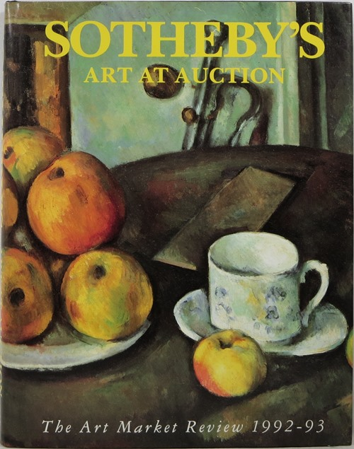Image for Sotheby's Art at Auction The Art Market Review 1992-93