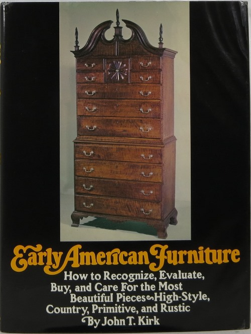 Image for Early American Furniture: How to Recognize, Evaluate, Buy, and Care For the Most Beautiful Pieces--High Style, Country, Primitive, and Rustic