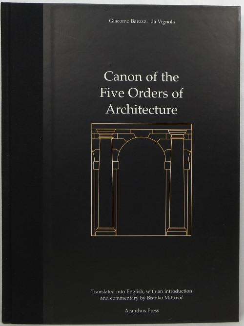Image for Canon of the Five Orders of Architecture