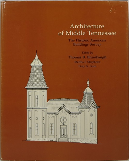Image for Architecture of Middle Tennessee: The Historic American Buildings Survey