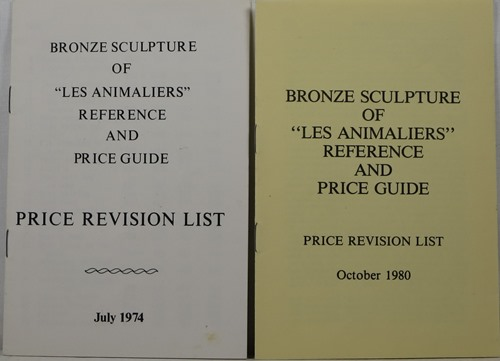 Image for Bronze Sculpture of Les Animaliers: Reference and Price Guide