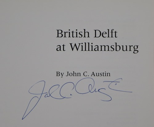 Image for British Delft at Williamsburg
