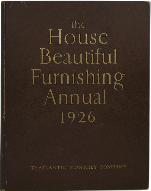 Image for The House Beautiful Furnishing Annual 1926