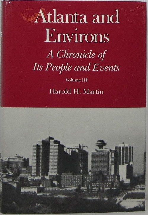Image for Atlanta and Environs: A Chronicle of Its People and Events, Volume III