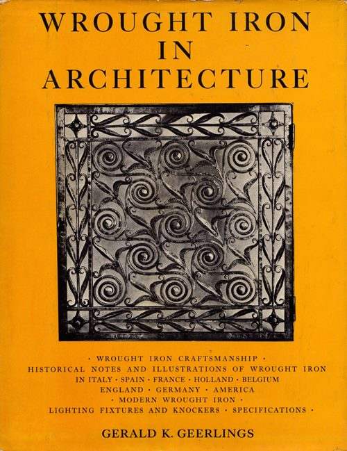 Image for Wrought Iron in Architecture