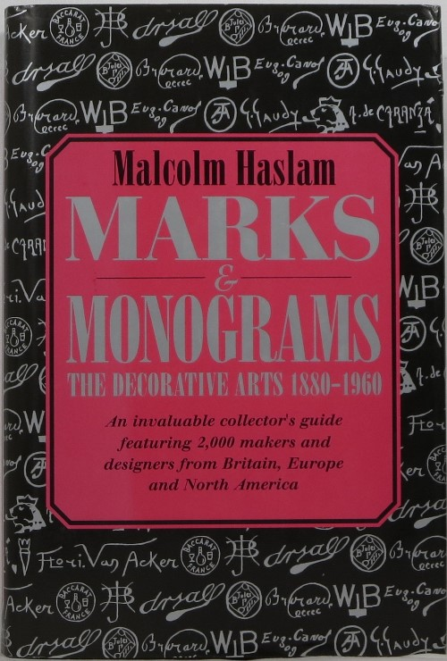 Image for Marks & Monograms: The Decorative Arts 1880-1960