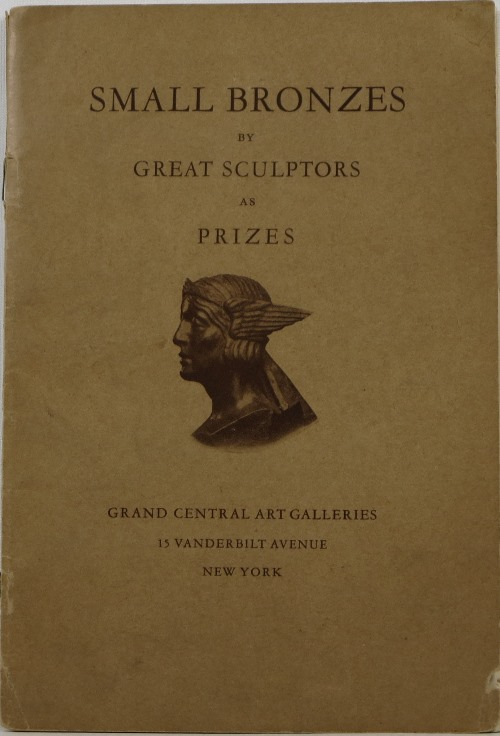 Image for Small Bronzes by Great Sculptors as Prizes