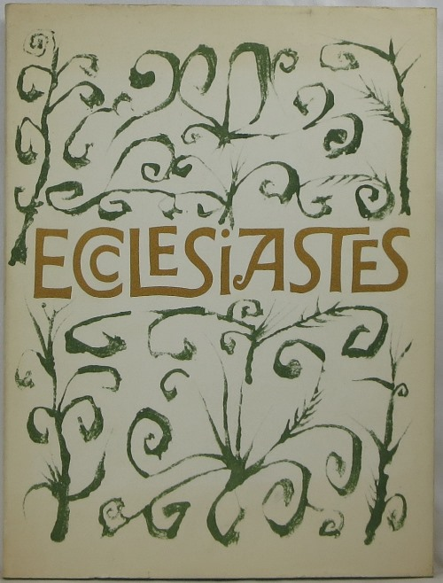 Image for Ecclesiastes, or, The Preacher