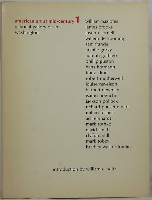 Image for American Art at Mid-Century 1