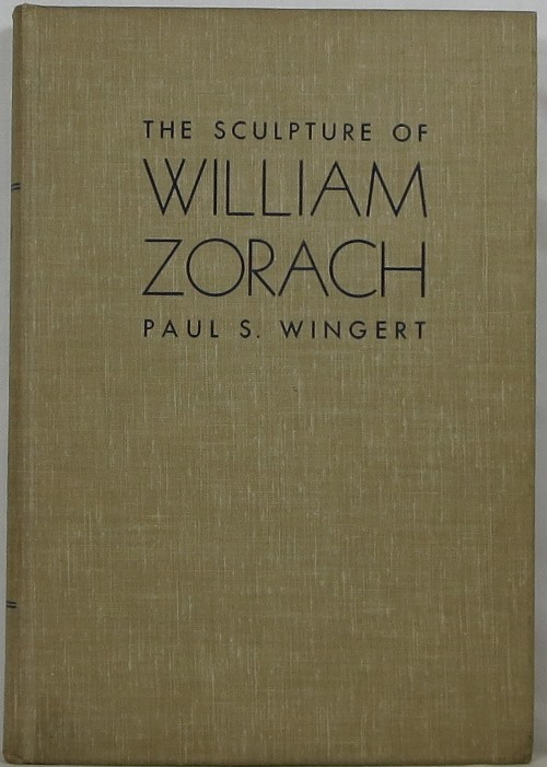 Image for The Sculpture of William Zorach