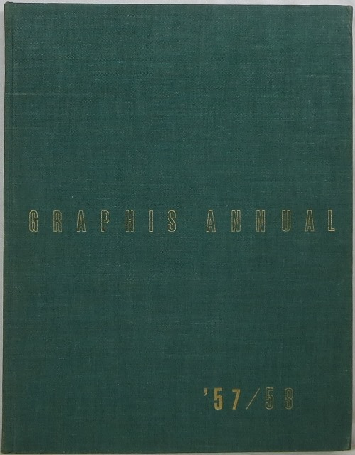Image for Graphis Annual 1957/58: International Yearbook of Advertising Art