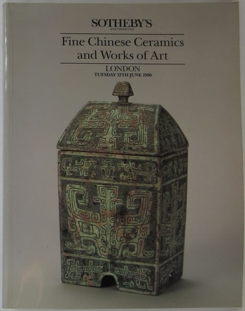 Image for Fine Chinese Ceramics and Works of Art: London Tuesday 12th June 1990