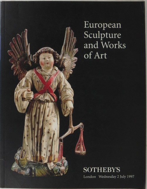 Image for European Sculpture and Works of Art: London 2 July 1997