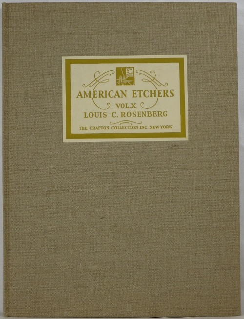 Image for American Etchers Volume X: Louis C. Rosenberg