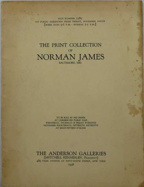 Image for The Print Collection of Norman James, Baltimore, MD