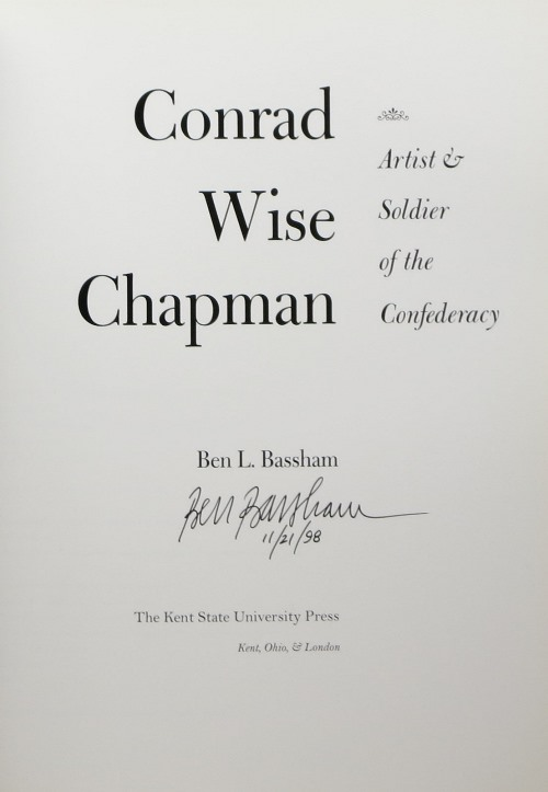 Image for Conrad Wise Chapman: Artist & Soldier of the Confederacy