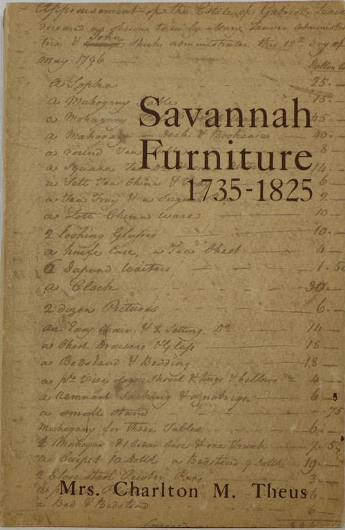 Image for Savannah Furniture 1735-1825