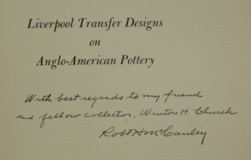 Image for Liverpool Transfer Designs on Anglo-American Pottery