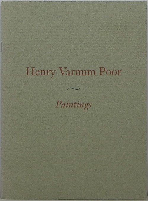 Image for Henry Varnum Poor (1887-1970): Paintings