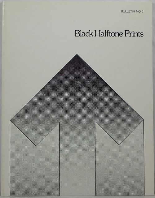Image for Black Halftone Prints (Bulletin No. 3)