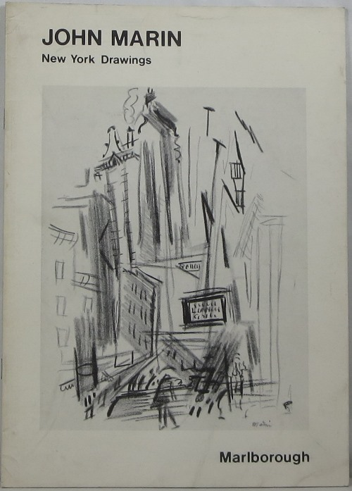 Image for John Marin: New York Drawings
